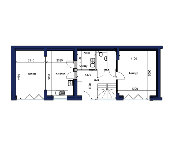 Barn Ground Floor Floorplan