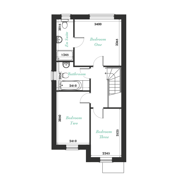 Plot ten first floor floorplan
